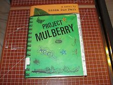 PROJECT MULBERRY by Linda Sue Park - 2005 Hardcover DJ - Growing up American