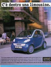 AUTO999-PUBBLICITA'/ADVERTISING-1999- SMART (versione C)