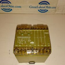 Pilz 17753 PN0Z 24 VDC 3S 10 2000VA Safety Stop Relay