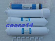 For KENT RO Water Purifier Sediment +Carbon Filter+Dow Filmtec Membrane+Housing