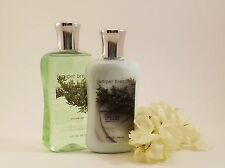 Bath & Body Works 2 Piece Set: * JUNIPER BREEZE * (Set 2)  Lotion & Shower Gel