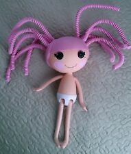 LALALOOPSY Full Size jewel Sparkles Doll! Crazy pink hair no clothes