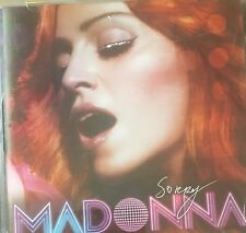 Madonna Sorry + 5  Australian Maxi CD Single 2006 VGC