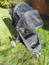 Baby Jogger CITY MINI Black Jogger Single pushchair quick fold