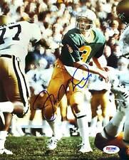 Notre Dame Joe Montana Signed Authentic 8X10 Photo Autographed PSA/DNA