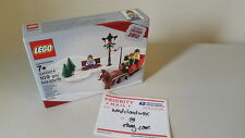 Lego Santa ginger bread house holiday limited edition set new winter sled NIB