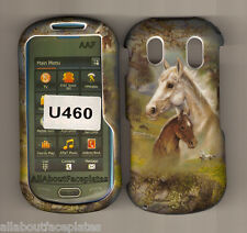 Horses Twin Kissing Samsung Intensity 2 U460 verizon phone Snap On Cover Case