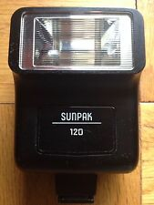 SUNPAK 120 ELECTRONIC FLASH Used
