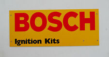 "ROBERT BOSCH Ignition Kits SIGN Size: 24-1/2"" Long X 10"" Height  New condition"