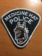 PATCH POLICE CANADA - MEDICINE HAT TRIBAL ( ALBERTA ) - ORIGINAL!
