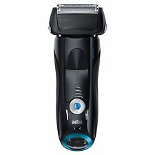 Braun Series 7 740s  Wet & Dry Electric Shaver Black #202