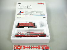 AN707-1# Märklin H0/AC 4580 Set vagoni Texas: Caboose+Piatto Car+Pompieri W+