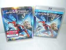 The Amazing Spider-Man 2 - 3D (Blu-ray/Dvd, Slipcover Canadian Region Free) NEW