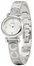 Coach 14501687 Signature Madison Silver Dial Stainless Steel Women's Watch