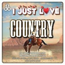 I JUST LOVE COUNTRY - 75 CLASSIC COUNTRY CUTS (NEW SEALED 3CD) VARIOUS ARTISTS