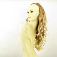 Demi-tête, demi-perruque 65cm blond clair cuivré blond clair ref 015 en 27t613