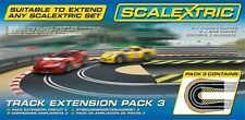 Scalextric C8512 Track Extension Pack 3 Hairpin Curve & Sideswipes 1:32 Digi Com