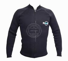 RUWADE 3mm neoprene wetsuit top,long sleeve neoprene jacket,thicker than 1.5-2mm