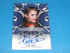 2014 Pop Century KRISTEN RENTON Blue Autograph Variant/10 Sons of Anarchy - Ima