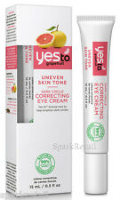 Yes To Grapefruit Organic Dark Circle Correcting EYE Cream Uneven Skin Tone 15ml