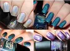 4Pcs/Set Born Pretty Holographic Holo Glitter Nail Polish Hologram  Effect DIY