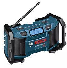 New Bosch PB180 18-Volt Lithium-Ion or 120V Compact AM/FM Radio