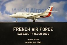 Hogan Ali 1:200 Dassault Falco 2000 French Aeronautica + Herpa-wings Catalogo