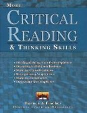 Critical Reading and Thinking Skills Barnes and ficher Paperback