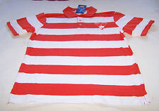 Sydney Swans AFL Mens Stripe Embroidered Polo Shirt Top Size M New