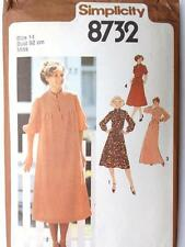"Simplicity Uncut Vintage 70s Smock Shirt Dress Skirt Pattern Bust 36"" Maternity?"