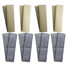 8 x Compatible Fluval U4 Foam and Polycarbon Cartridges Internal Filter Sponges