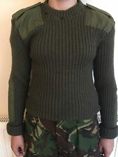 2 british army olive green jersey/jumper 106 cm marines commando  paintballing