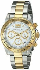 Invicta Men's Speedway Chronograph 200m Two Toned Stainless Steel Watch 9212