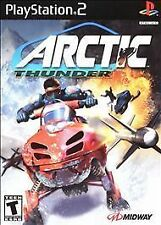SONY PlayStation 2 PS2 Arctic Thunder -  VERY GOOD COND.WITH MANUAL