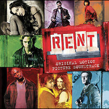 RENT [Original Motion Picture Soundtrack] Jonathan Larson 2005 2 DISCS * SEALED!