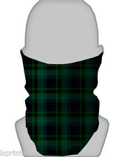 BLACKWATCH TARTAN DESIGN SCALDACOLLO FASCIA CAPELLI
