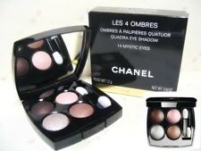CHANEL LES 4 OMBRES  new in box AUTHENTIC 14 Mystic eyes or 204 Tisse vendome