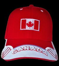 Canada Canadian Maple Leaf Flag Sports Baseball Cap Hat  Casquettes Chapeau