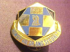 US Army 66th Military Intelligence Battalion Pin Clutchback Crest Medal  #G297