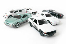 Takara Tomy Tomica Initial D AE86 RX-7 GTR 6 Cars BoxSet Limited Edition Rare