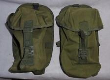 Pair of British Military Green PLCE Soldier 90 Utility Pouch Webbing