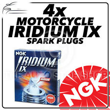 4x NGK Iridium IX Spark Plugs for SUZUKI 600cc GSF600 Bandit Unfaired 95-05 3521