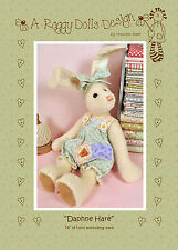 DAPHNE HARE - Sewing Craft PATTERN - Rabbit Doll Bear Shabby Chic