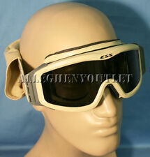 Oakley ESS NVG Tan BALLISTIC GOGGLES w Speed Sleeve w Dark Lens US Military VGC