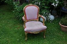 antiker Kinder Sessel  - Lillifee -  Barock - Stuhl - Sessel -Thron