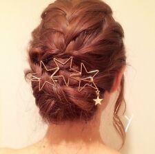 Femmes Épingles À Cheveux Étoiles Barrette Parure Pour Cheveux