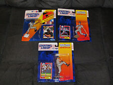 Starting Lineup Hall of Fame Rookie Lot Frank Thomas/Mike Piazza/Randy Johnson