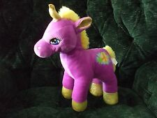 "15"" plush unicorn with peace sign on left hip by Midwood"