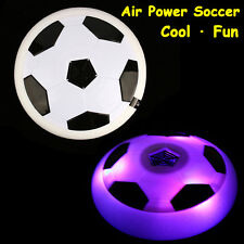 Air Power Soccer Football Disk Hover Glide Float Disc Fun Children Game Toys LED