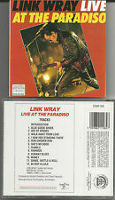 "Link wray ""Live at the paradiso"" CD 1999 Magnum/uk Neuf/New"